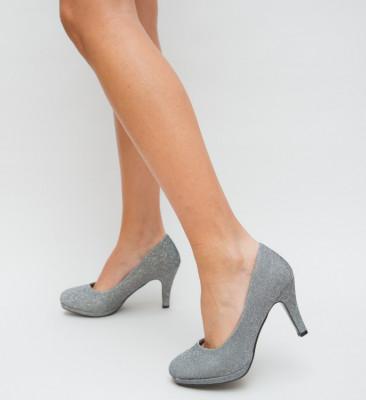 Pantofi Jacks Gri