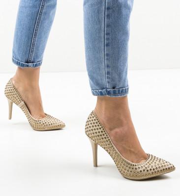 Pantofi Jazm Bej