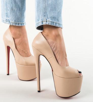 Pantofi Jikos Bej