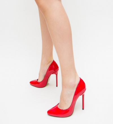 Pantofi Kimes Rosii