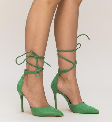 Pantofi Marguta Verzi