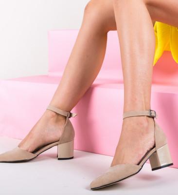 Pantofi Masono Bej