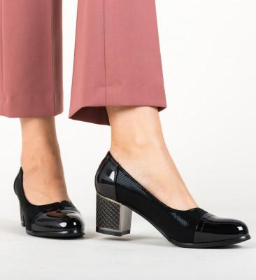 Pantofi Millar Negri