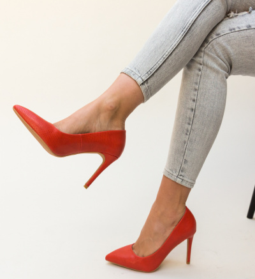 Pantofi Mirial Rosii