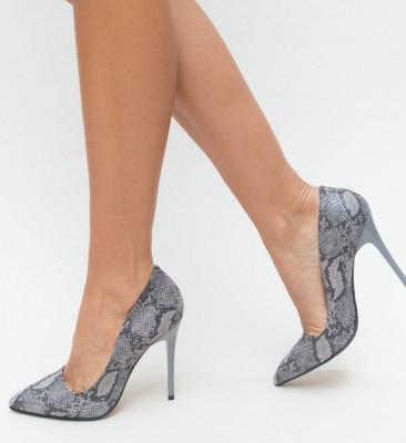 Pantofi Misy Gri