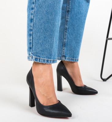 Pantofi Morlon Negri