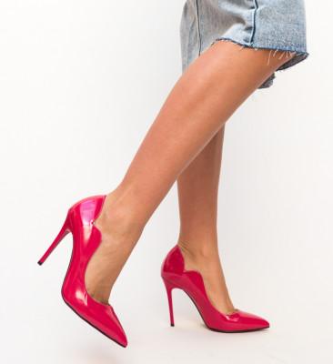 Pantofi Nitel Rosii