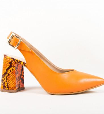 Pantofi Palalama Portocalii