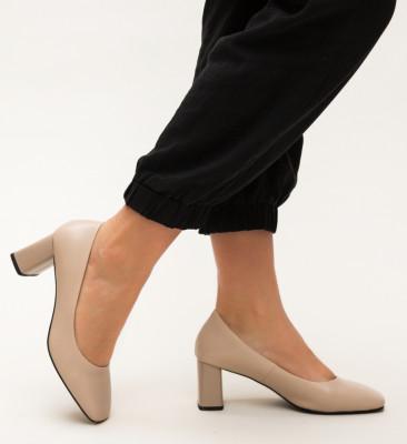Pantofi Raes Bej