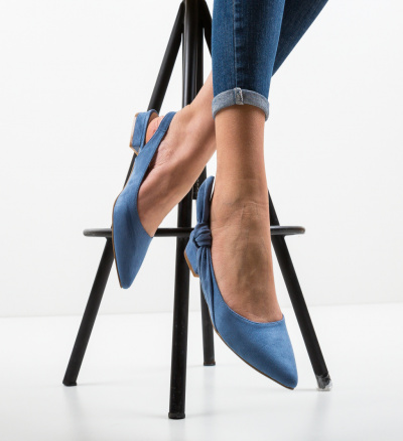 Pantofi Rhona Albastri