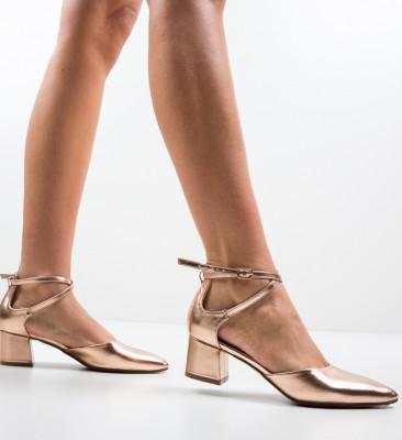 Pantofi Sandiko Aurii