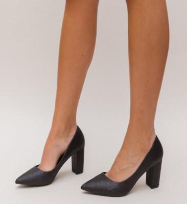 Pantofi Simera Negri