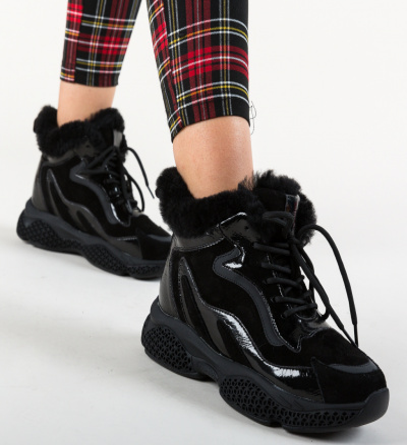 Pantofi Sport Allen Negri