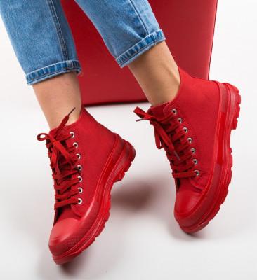 Pantofi Sport Braun Rosii