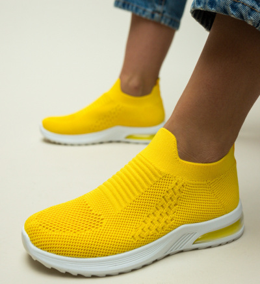 Pantofi Sport Domonic Galbeni