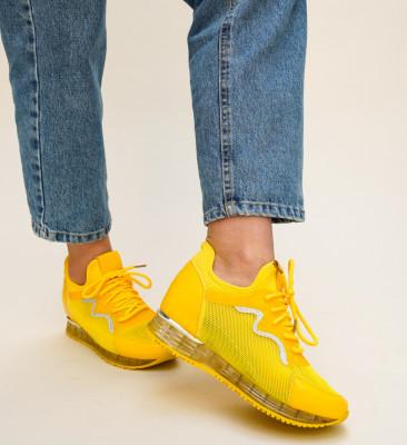 Pantofi Sport Elimina Galbeni