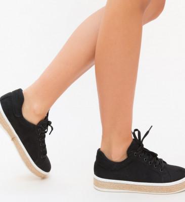 Pantofi Sport Elos Negri