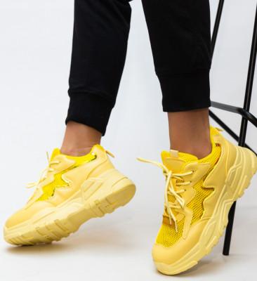 Pantofi Sport Horace Galbeni