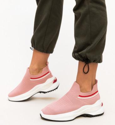 Pantofi Sport King Roz