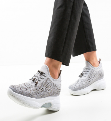 Pantofi Sport Maira Gri