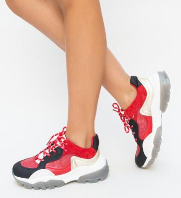 Pantofi Sport Makaren Rosii