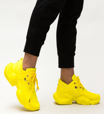 Pantofi Sport Mebas Galbeni
