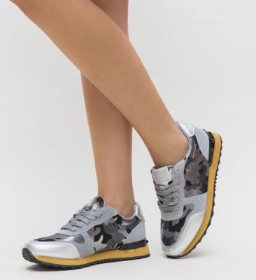 Pantofi Sport Spanish Argintii