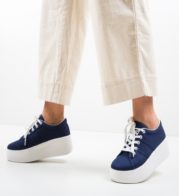 Pantofi Sport Woka Bleumarin