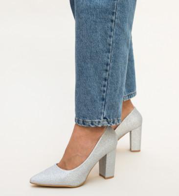 Pantofi Tyga Argintii