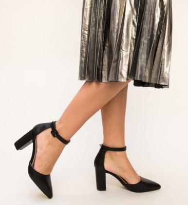 Pantofi Zavala Negri