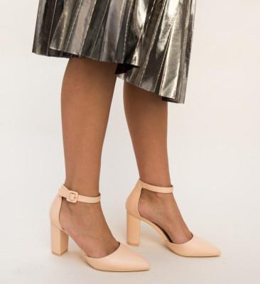 Pantofi Zavala Nude