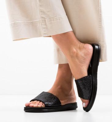 Papuci Alogas Negri