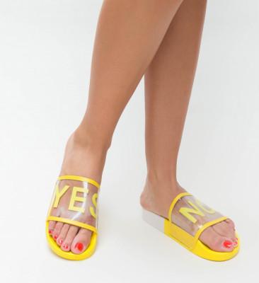 Papuci Boka Galbeni