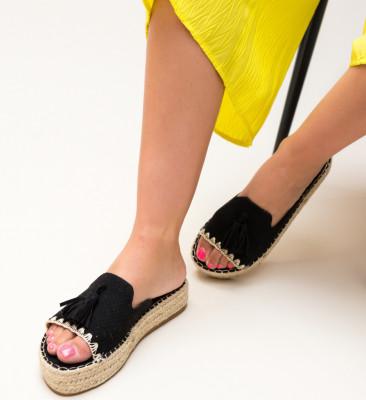Papuci Cerza Negri