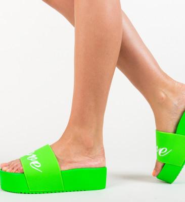 Papuci Connor Verzi (Neon)
