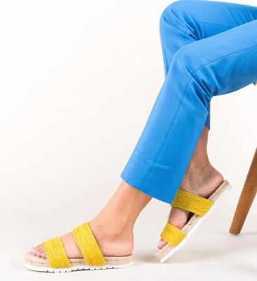 Papuci Harvey Galbeni