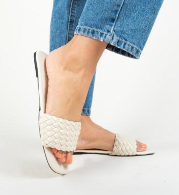 Papuci Rolls Bej