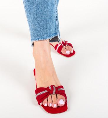 Papuci Stireno Rosii