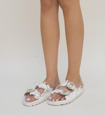 Papuci Zendo Argintii