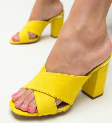 Sandale Alegra Galbene