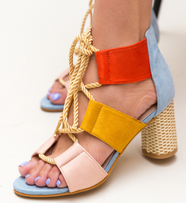 Sandale Aras Albastre