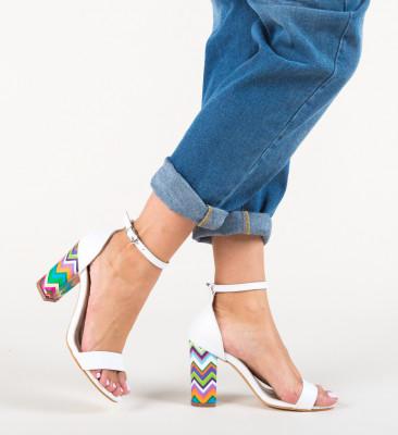 Sandale Aztecaz Albe