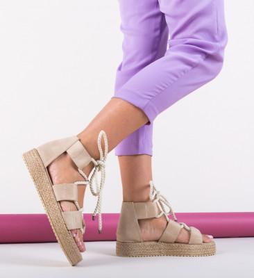 Sandale Boxer Bej 2