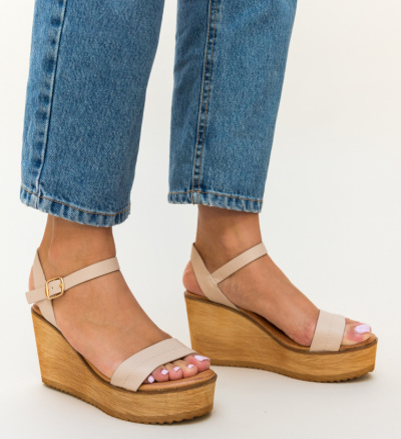 Sandale Briana Bej