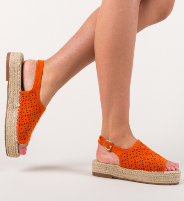 Sandale Bulge Portocalii
