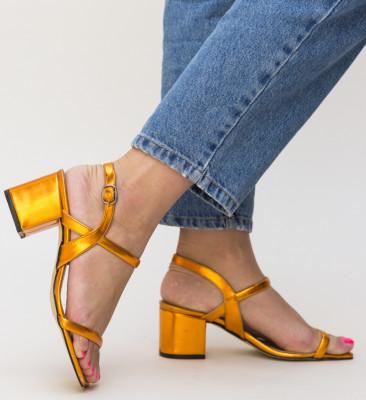 Sandale Cotanca Portocalii