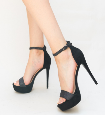 Sandale Dama Doto Negre