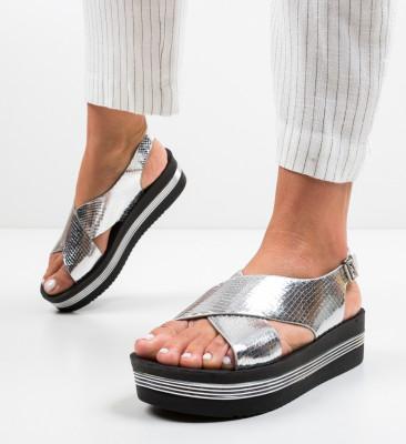 Sandale Jersa Argintii