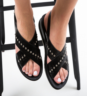 Sandale Kando Negre