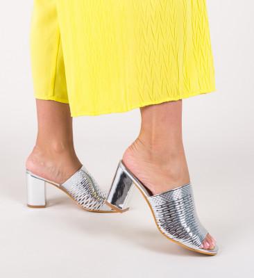 Sandale Karson Argintii